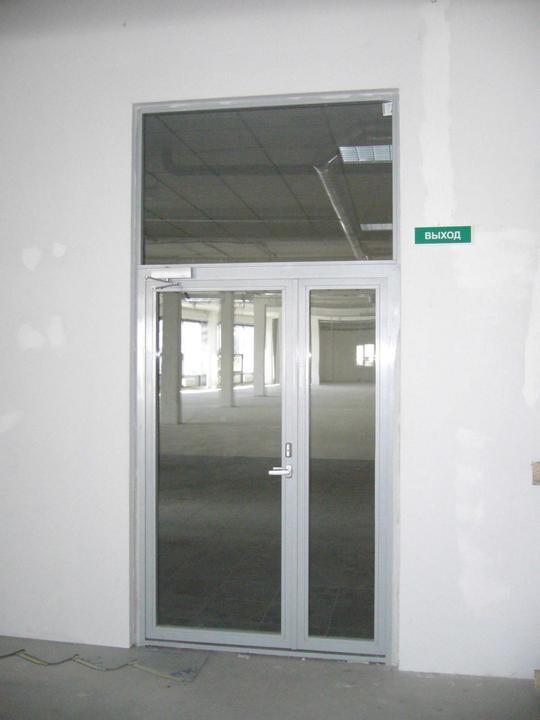 Светопрозрачные огнестойкие конструкции