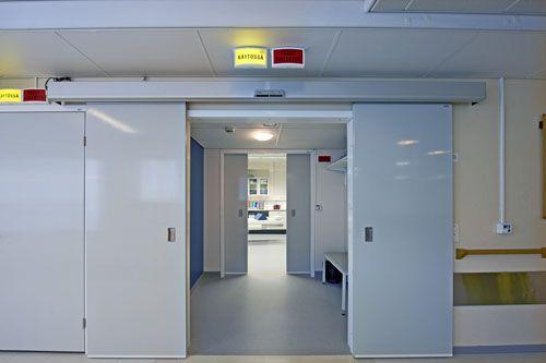 Двери для рентгенкабинета